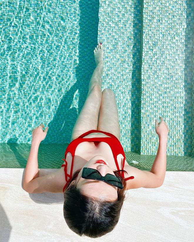 Loạt ảnh Á hậu Huyền My mặc bikini đầy nóng bỏng-1