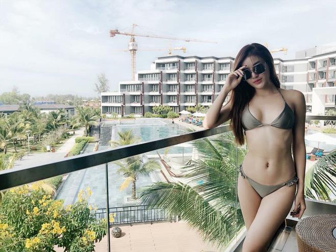 Loạt ảnh Á hậu Huyền My mặc bikini đầy nóng bỏng-7