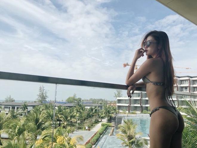 Loạt ảnh Á hậu Huyền My mặc bikini đầy nóng bỏng-8