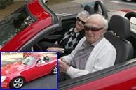 Cụ ông 107 tuổi vẫn khỏe mạnh, lái xe mui trần đưa bạn gái dạo phố