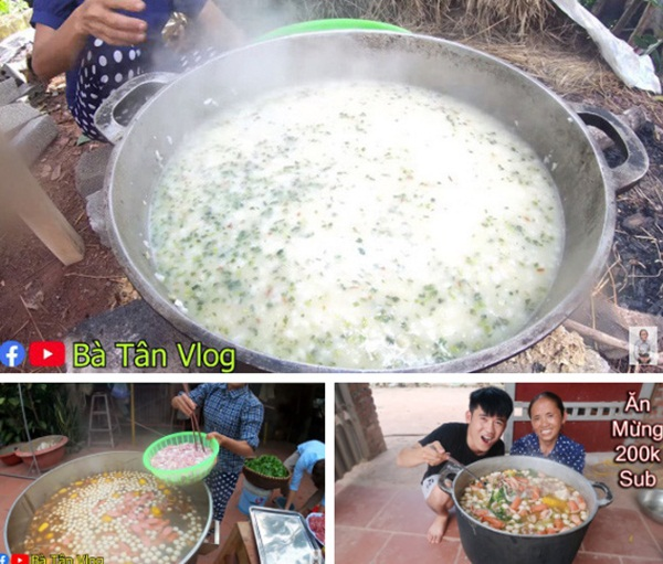 Bà Tân Vlog làm món trứng khổng lồ chiên nước mắm, dân mạng tinh ý phát hiện sự kết hợp nguyên liệu dễ gây ngộ độc-4