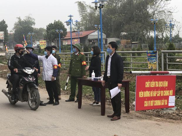 Vĩnh Phúc cách ly toàn xã Sơn Lôi vì dịch Covid-19, hỗ trợ mỗi người dân 40.000 đồng/ngày-1
