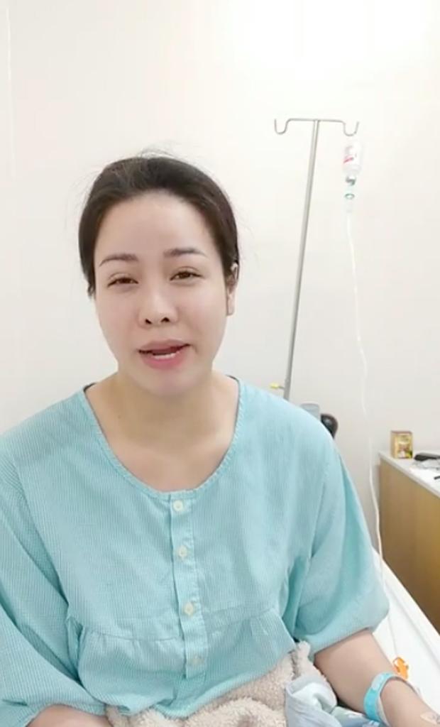 Nhật Kim Anh bất ngờ nhập viện, gương mặt tiều tuỵ thấy rõ sau thời gian liên tục vướng mâu thuẫn với chồng cũ-1