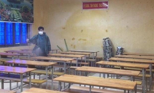 Sở GD-ĐT Vĩnh Phúc xác nhận 38 học sinh có biểu hiện ho, sốt, khó thở đều âm tính với virus Corona-1