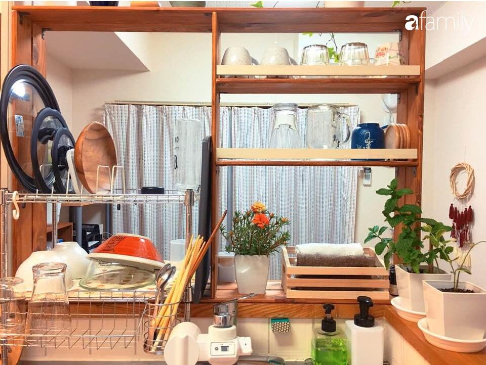 Nàng dâu Việt ở Nhật tự tay cải tạo và trang trí căn hộ đi thuê đẹp tới nỗi chị em mắt tròn mắt dẹt thán phục-7