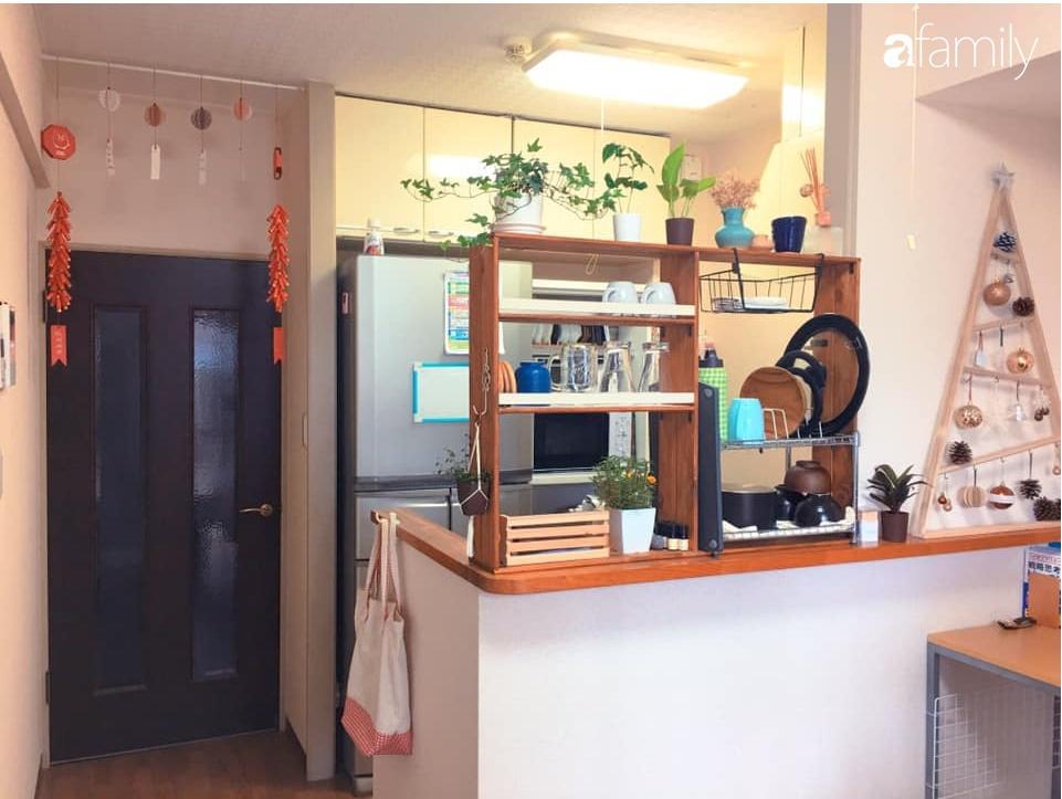 Nàng dâu Việt ở Nhật tự tay cải tạo và trang trí căn hộ đi thuê đẹp tới nỗi chị em mắt tròn mắt dẹt thán phục-8
