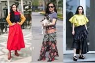 Hàng trăm lần mix hàng hiệu lạc quẻ, hình như Phượng Chanel có 'thù truyền kiếp' với chân váy?