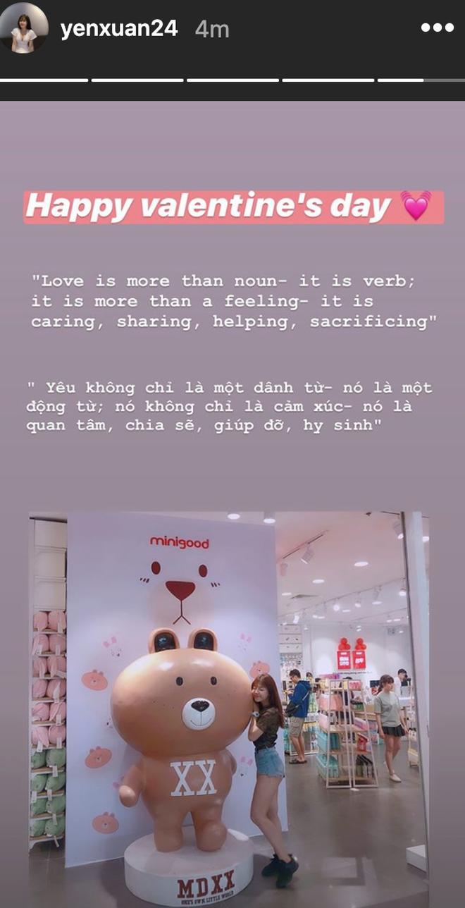 Yến Xuân khoe bữa sáng ngày Valentine bên Văn Lâm cùng lời ngọt ngào: Yêu là quan tâm, chia sẻ, giúp đỡ và hy sinh-2