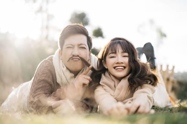 """Trường Giang - Nhã Phương tung bộ ảnh trốn con"""" mừng Valentine: Nhìn mà muốn cưới luôn và ngay!-6"""