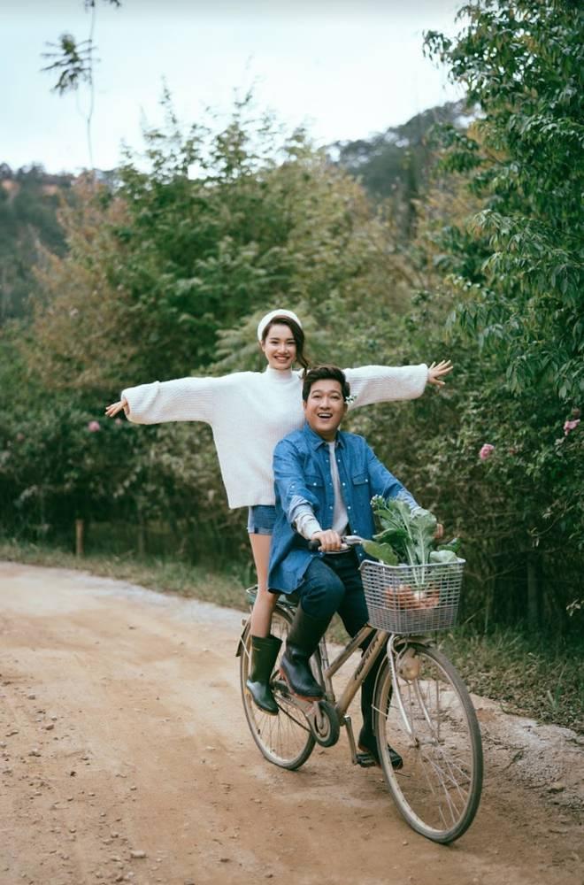 """Trường Giang - Nhã Phương tung bộ ảnh trốn con"""" mừng Valentine: Nhìn mà muốn cưới luôn và ngay!-12"""