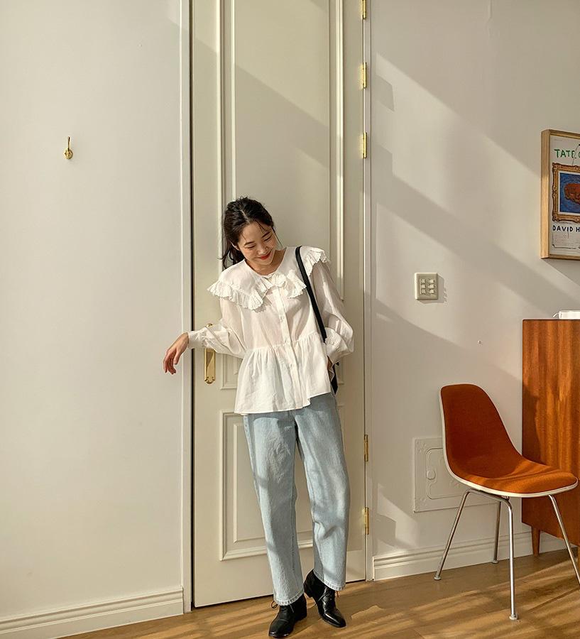 Mê quần jeans ống suông thì bạn nhất định phải sắm 3 mẫu áo sau để mặc là đẹp và chất ngất-1