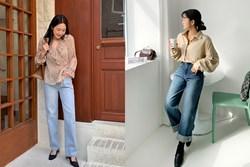 Mê quần jeans ống suông thì bạn nhất định phải sắm 3 mẫu áo sau để mặc là đẹp và chất ngất