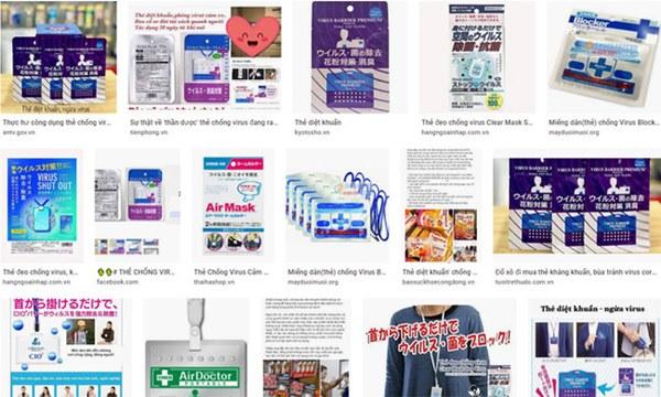 Tràn lan các loại thẻ được quảng cáo công dụng diệt khuẩn, chống virus corona Covid-19 trên mạng: Chuyên gia nói gì?-2