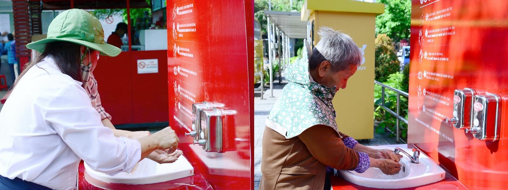 Lifebuoy lắp trạm rửa tay miễn phí ở hàng loạt điểm công cộng-2