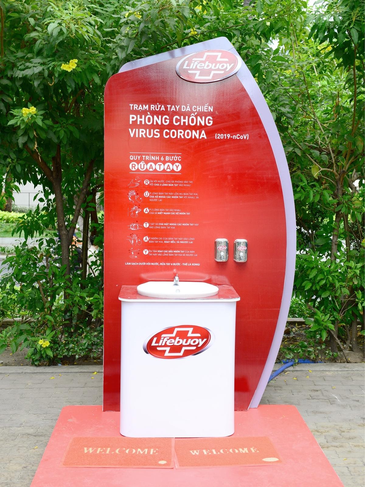Lifebuoy lắp trạm rửa tay miễn phí ở hàng loạt điểm công cộng-3