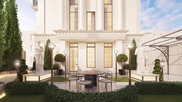 Sau khi sở hữu căn nhà 5 triệu đô, Huyền Baby khoe biệt thự mới hoành tráng như cung điện-3
