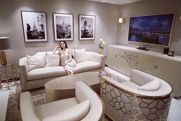 Sau khi sở hữu căn nhà 5 triệu đô, Huyền Baby khoe biệt thự mới hoành tráng như cung điện-6