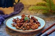 Cuối tuần vào bếp 15 phút có ngay món bò nướng vừng thơm phức chiêu đãi cả nhà