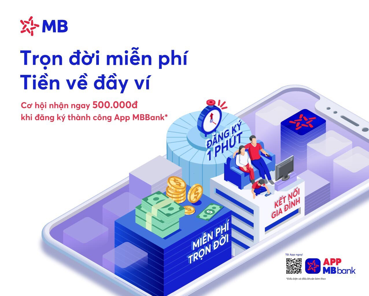 MB ưu đãi đến 2 tỷ đồng mừng App MBBank phiên bản mới-1