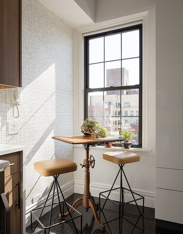 10 gợi ý tuyệt vời tạo góc ăn sáng đầy nhớ nhung trong căn bếp nhỏ-1