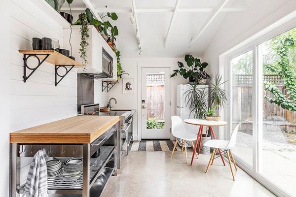 10 gợi ý tuyệt vời tạo góc ăn sáng đầy nhớ nhung trong căn bếp nhỏ-5