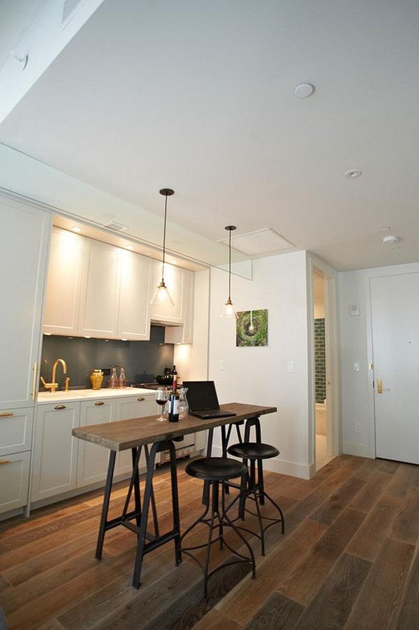 10 gợi ý tuyệt vời tạo góc ăn sáng đầy nhớ nhung trong căn bếp nhỏ-8