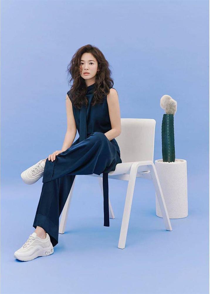Trùm cuối tóc bà thím nhất định phải thuộc về Song Hye Kyo: Đẹp đỉnh thế này ai cưỡng lại!-1