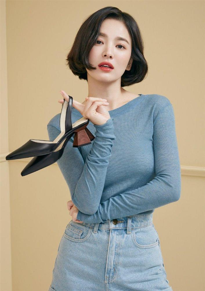 Trùm cuối tóc bà thím nhất định phải thuộc về Song Hye Kyo: Đẹp đỉnh thế này ai cưỡng lại!-13