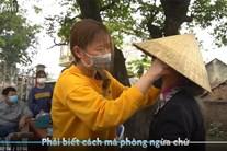 Cuộc sống thường ngày ở xã Sơn Lôi bị cách ly vì virus corona