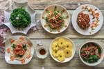 Mâm cơm cuối tuần 5 món đầy màu sắc, ngắm đã yêu