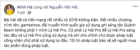 Lý Hải bị kiện đòi bồi thường 4 tỷ, Minh Hà tức giận đáp trả, khẳng định chồng mình mắc họa vô lý-4