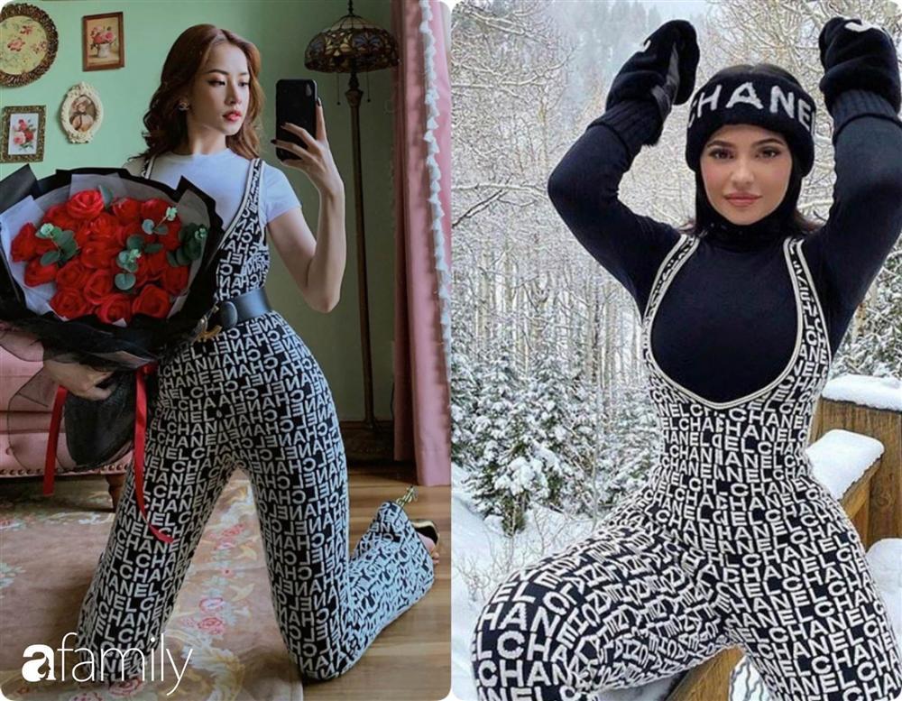 Diện bộ jumpsuit gần 80 triệu, Chi Pu mix đồ cực kỳ cao tay thậm chí còn có thể so bì độ gợi cảm với cả Kylie Jenner-6