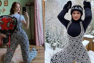 Diện bộ jumpsuit gần 80 triệu, Chi Pu mix đồ cực kỳ cao tay thậm chí còn có thể so bì độ gợi cảm với cả Kylie Jenner