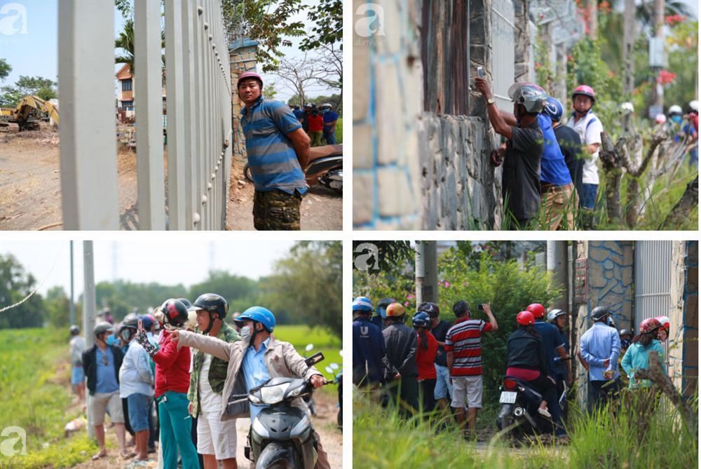 Hàng chục người vẫn đội nắng, bao vây ngôi nhà hoang nơi Lê Quốc Tuấn bị tiêu diệt đã 3 ngày để... hóng chuyện-3