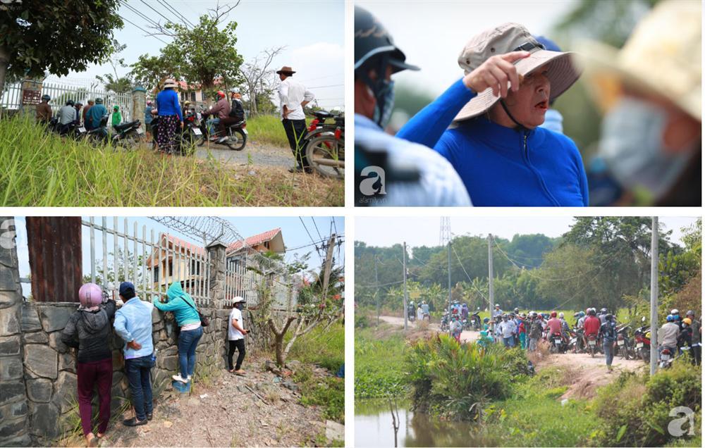 Hàng chục người vẫn đội nắng, bao vây ngôi nhà hoang nơi Lê Quốc Tuấn bị tiêu diệt đã 3 ngày để... hóng chuyện-6