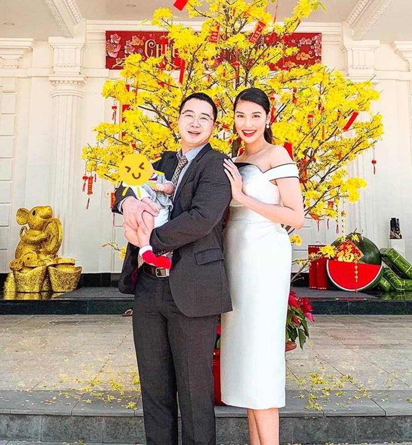 Mới gần 3 tháng tuổi, con trai siêu mẫu Lan Khuê đã được thừa kế món tài sản bất ngờ từ mẹ-1