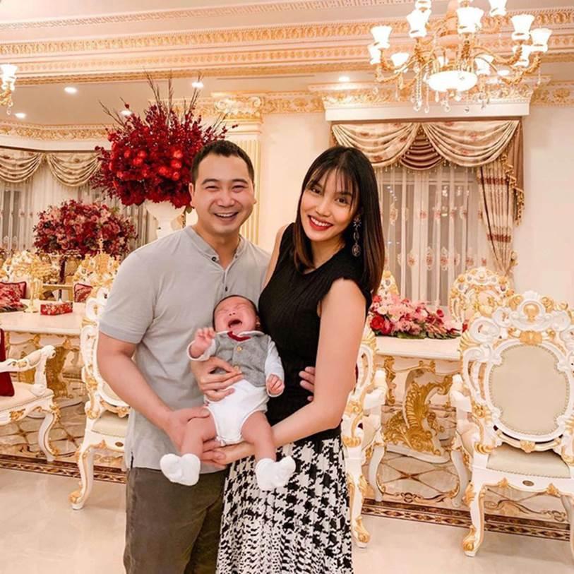 Mới gần 3 tháng tuổi, con trai siêu mẫu Lan Khuê đã được thừa kế món tài sản bất ngờ từ mẹ-4
