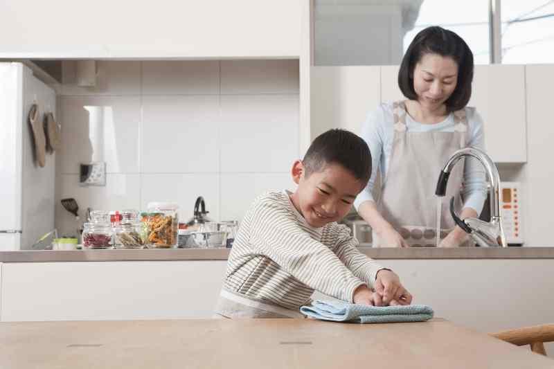 Bố mẹ đi làm, trẻ nghỉ học phòng dịch Covid-19 ở nhà vẫn tự phục vụ bản thân rất tốt chỉ cần được giáo dục kỹ năng này-2