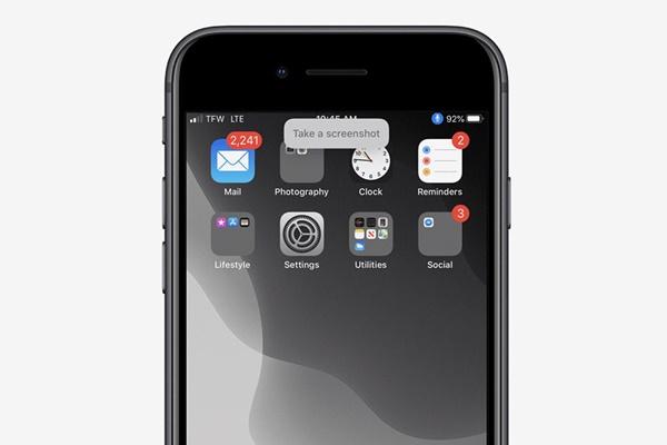 Cách chụp ảnh màn hình iPhone bằng giọng nói-1