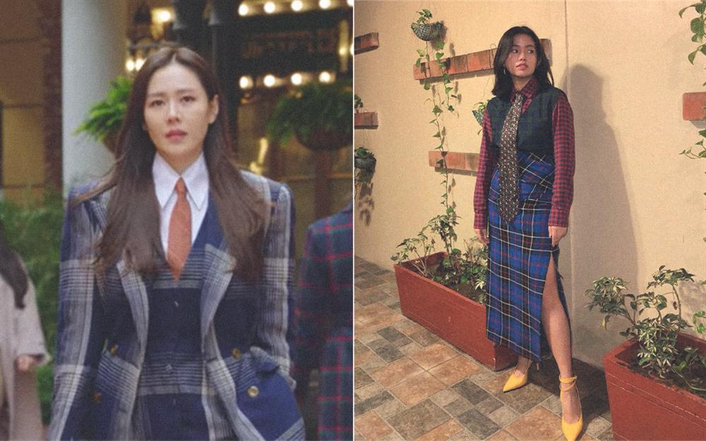Đời không như mơ: Thử copy style của Son Ye Jin trong Crash Landing On You, nàng công sở nhận cái kết đắng-1