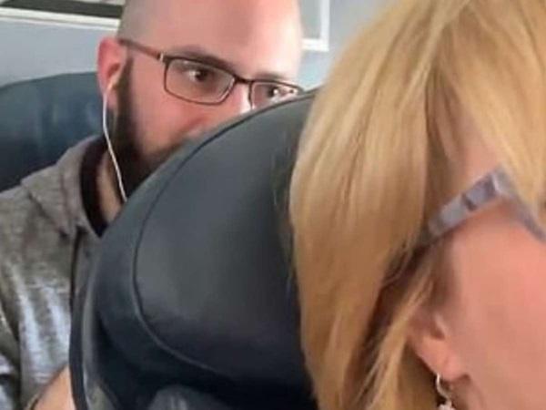 Nữ hành khách bị đấm liên tục vào lưng ghế trên máy bay, tiếp viên lại bênh vực kẻ ngồi sau và tranh cãi kịch liệt của cư dân mạng: Ai đúng, ai sai?-1