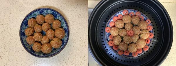 Bữa tối không dầu mỡ với món thịt viên hấp ăn đến đâu mê đến đấy, hao cơm cực kỳ-3