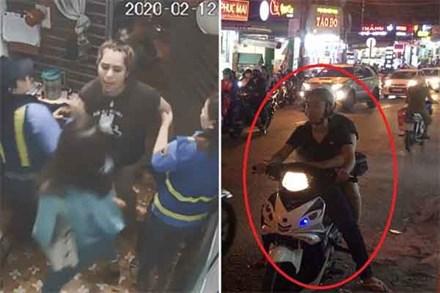 Clip: Lời khai của cặp đôi đánh đập, xúc phạm nữ phóng viên VTV khi đang tác nghiệp ở gác chắn đường sắt