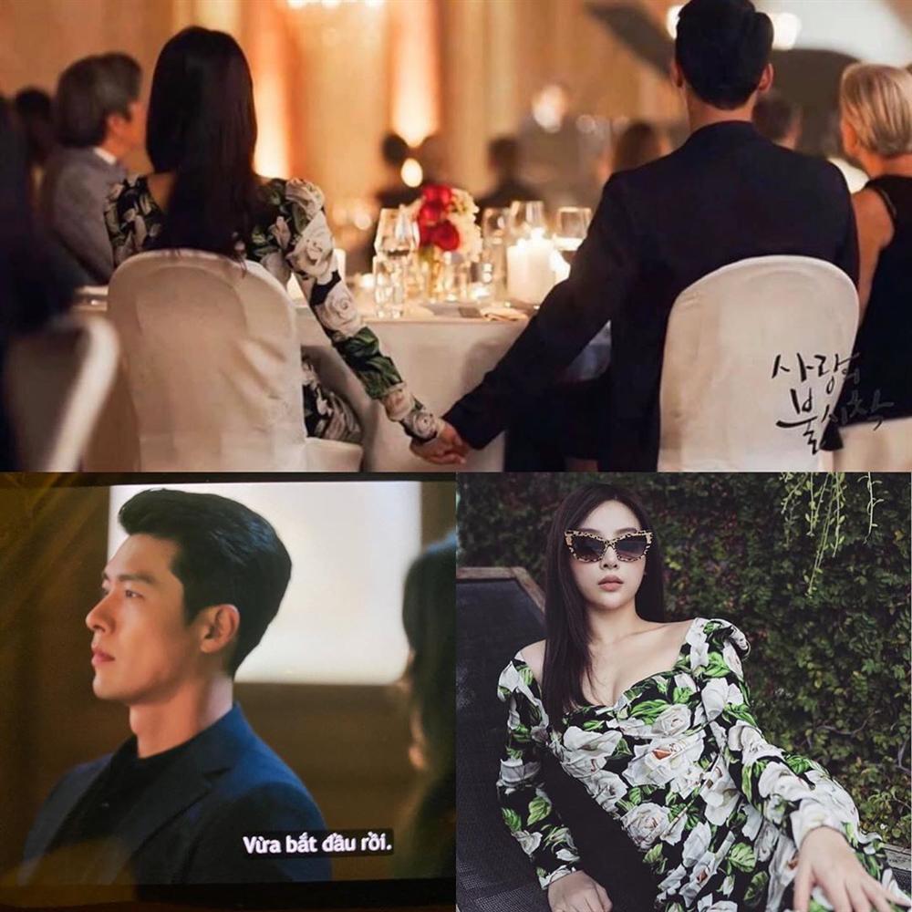 Đụng váy với Son Ye Jin, Huyền Baby thừa ngay cơ hội tình tứ cùng Hyun Bin: Làm thế thì ai đọ lại chị-1