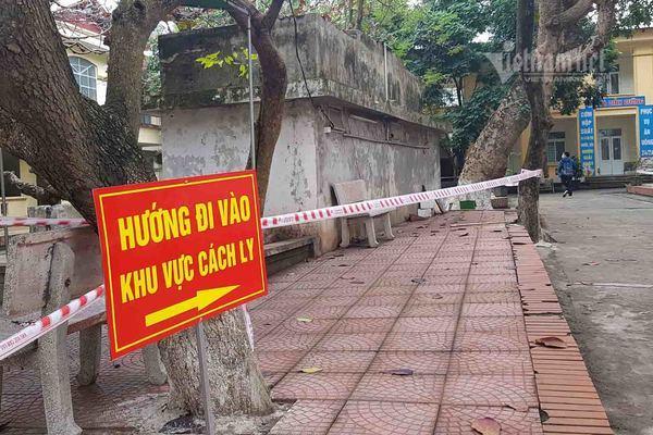 Nam Định cách ly 2 vợ chồng giáo viên từ Sơn Lôi cùng 30 người tiếp xúc-1