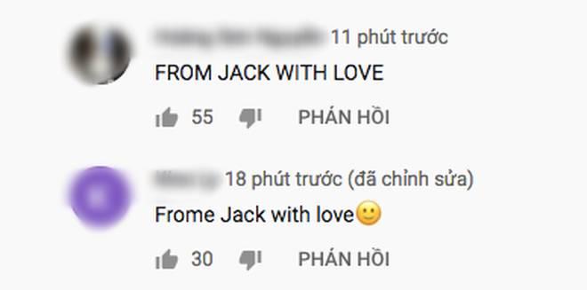 Teaser của K-ICM lên thẳng top 2 trending sau 12 tiếng với lượng dislike gấp 10 lần like, toàn bộ bình luận chỉ có... From Jack With Love-3