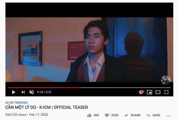 Teaser của K-ICM lên thẳng top 2 trending sau 12 tiếng với lượng dislike gấp 10 lần like, toàn bộ bình luận chỉ có... From Jack With Love-7