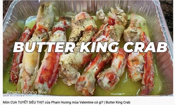 Thêm một màn hack não đến từ Hoa hậu Phạm Hương: Làm vlog khoe nấu ăn đảm nhưng nhất định gọi King Crab là cua Tuyết-1