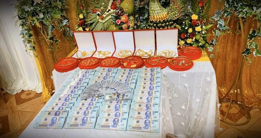 Trao 49 cây vàng cùng 2,5 tỉ đồng làm của hồi môn cho em gái, dân mạng bất ngờ hơn khi biết danh tính người chị gái-3