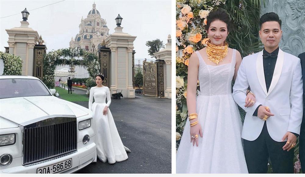 Cô dâu 200 cây vàng ở Nam Định đã sinh con đầu lòng, em bé rich kid ngậm thìa vàng từ trứng nước cũng được hé lộ?-1